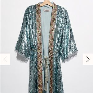 Free people sequin duster